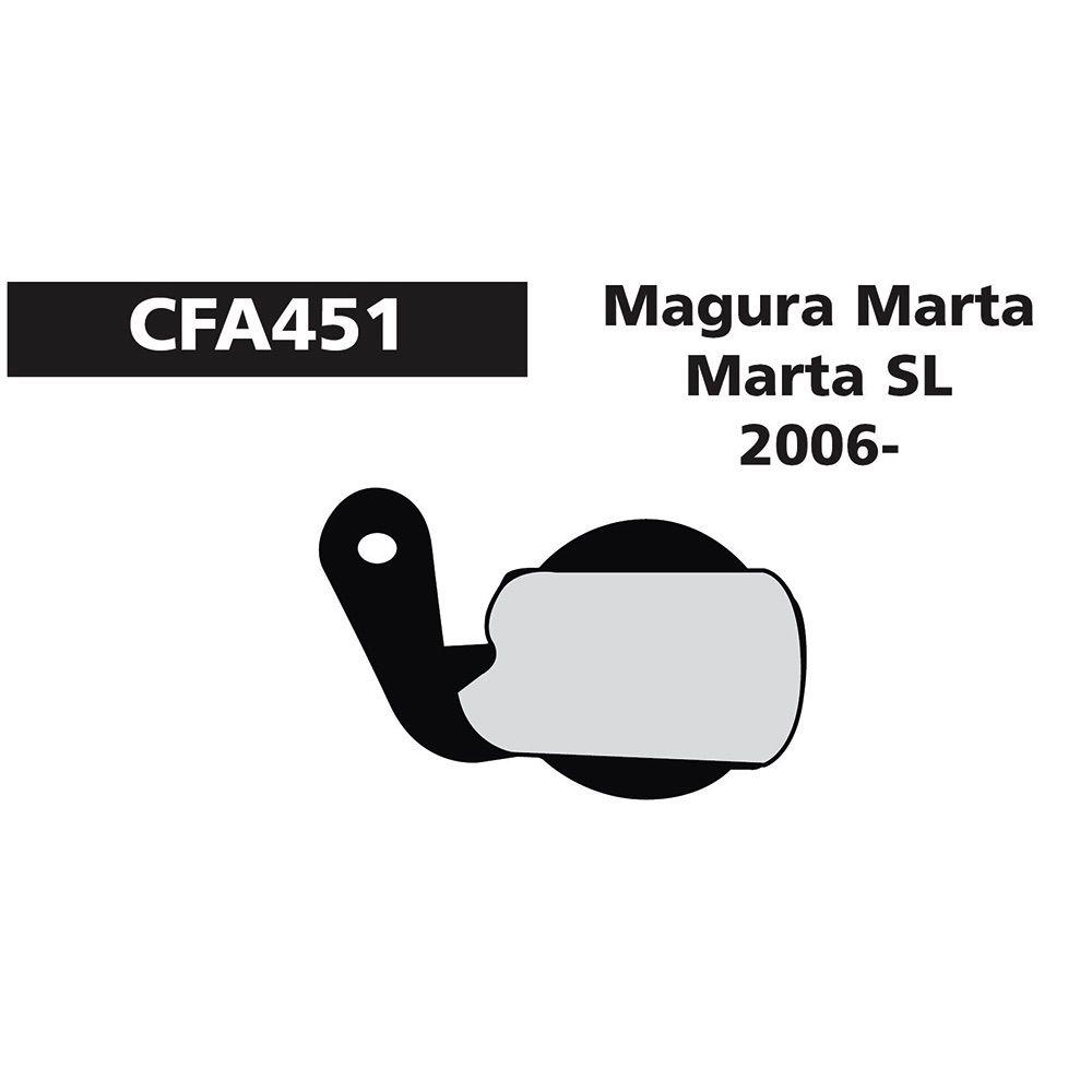 EBC EBC MAGURA MARTA/SL/GOLD RED FA451R