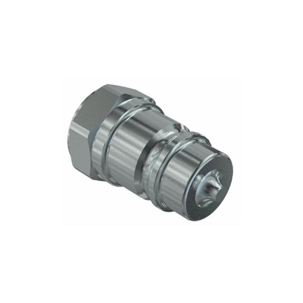 Male Quick Release Hydraulic Coupling - 1/2