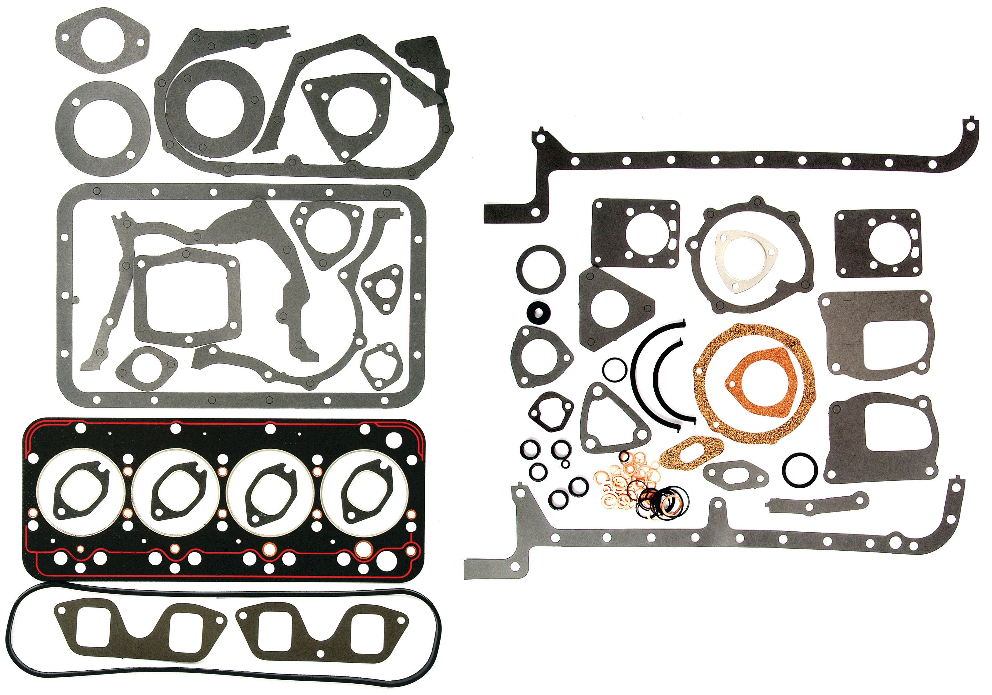 WHITE/OLIVER GASKET SET-FULL W/O SEALS 62085