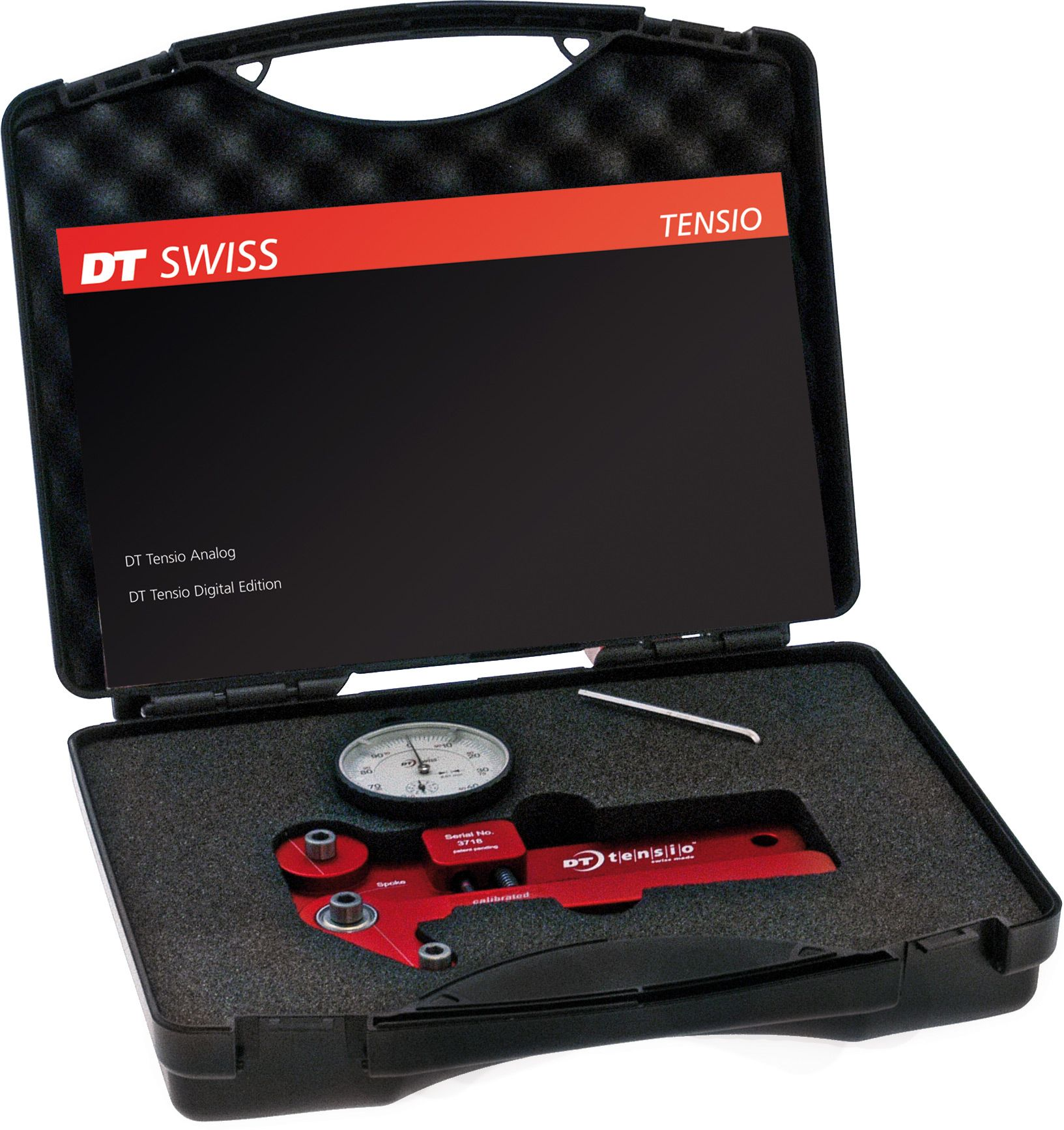 DT SWISS TOOL DT TENSIOMETER ANALOG RED RED TLDT105