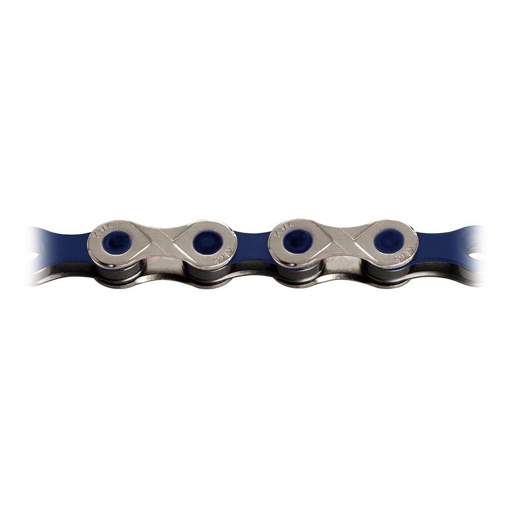 KMC X10 VIVID BLUE CHAIN 114L