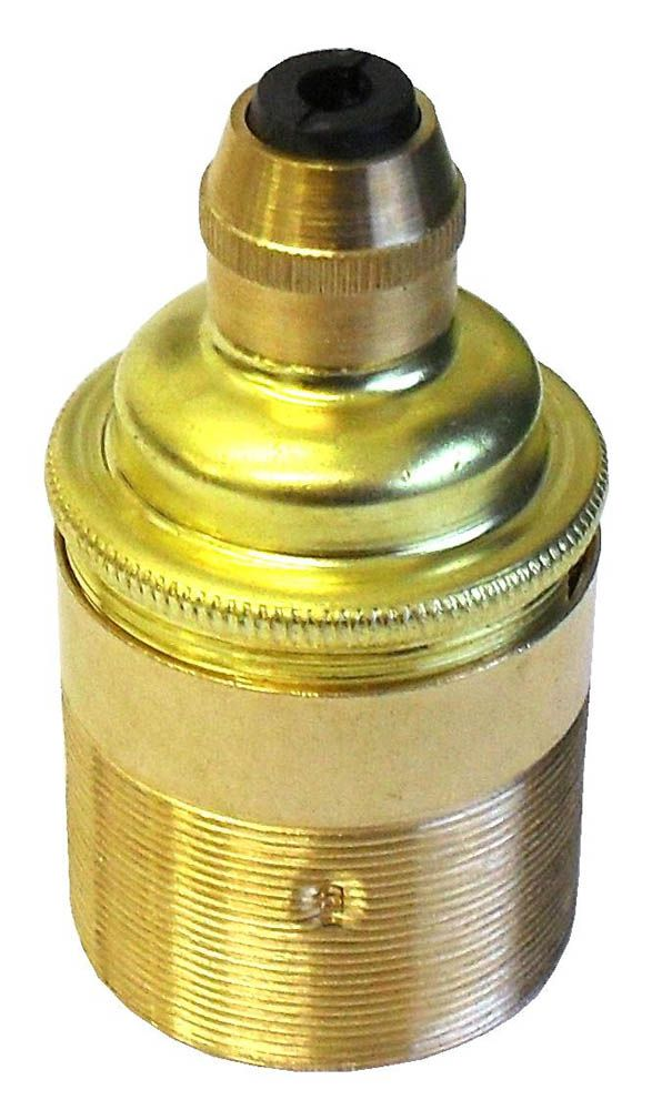 Continental L/holder ES Brass Threaded Skirt with Cordgrip L2C30.05981