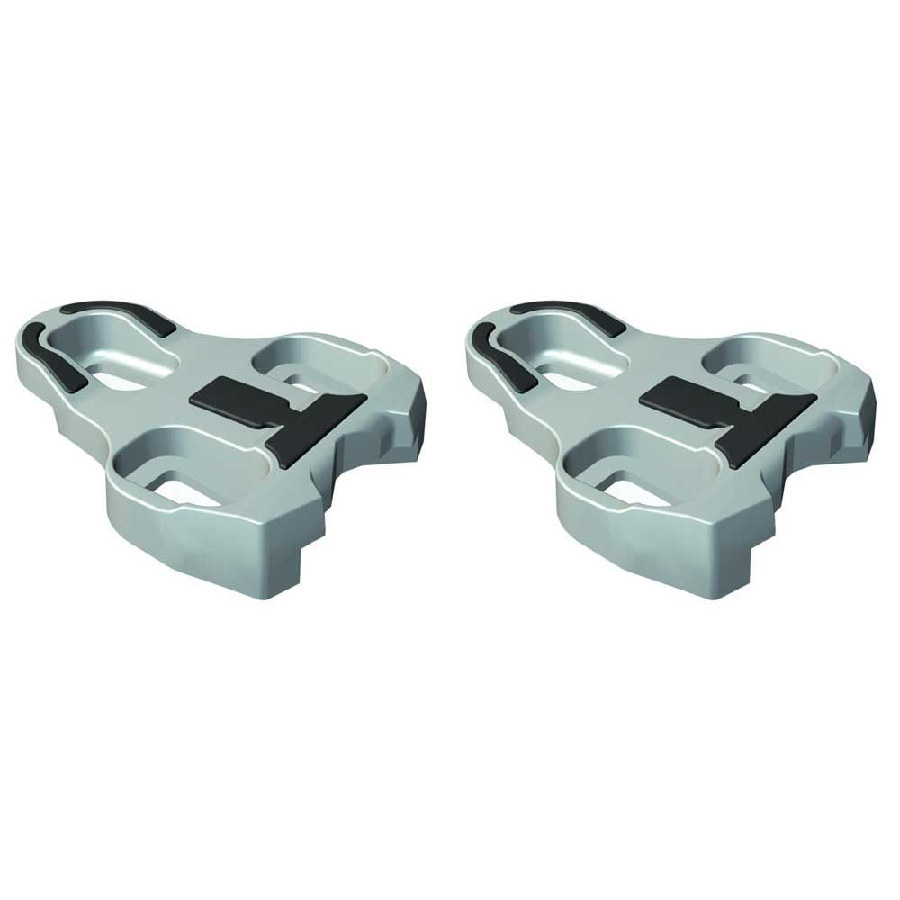VELOX LOOK COMPATIBLE KEO PEDAL CLEATS GREY 4.5° VTP111