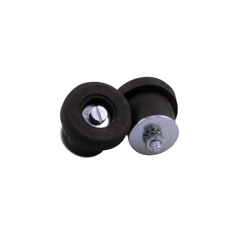 VELOX RUBBER SCREW-ON BAR END PLUGS
