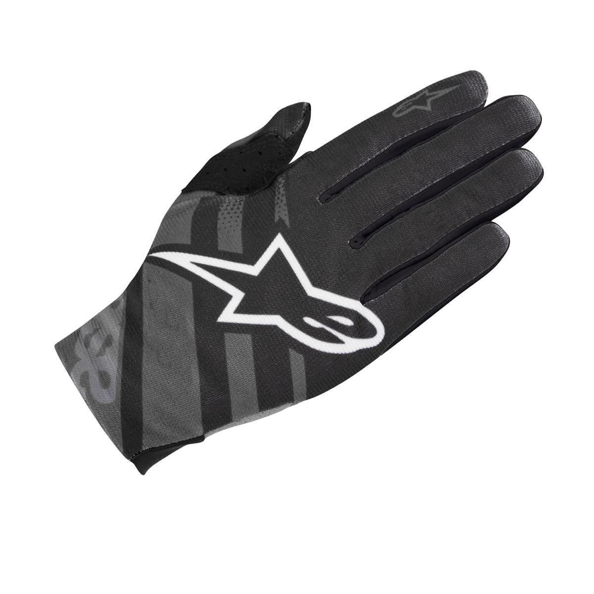 Alpinestars Racer Glove 2018: Black/Dark Shadow M
