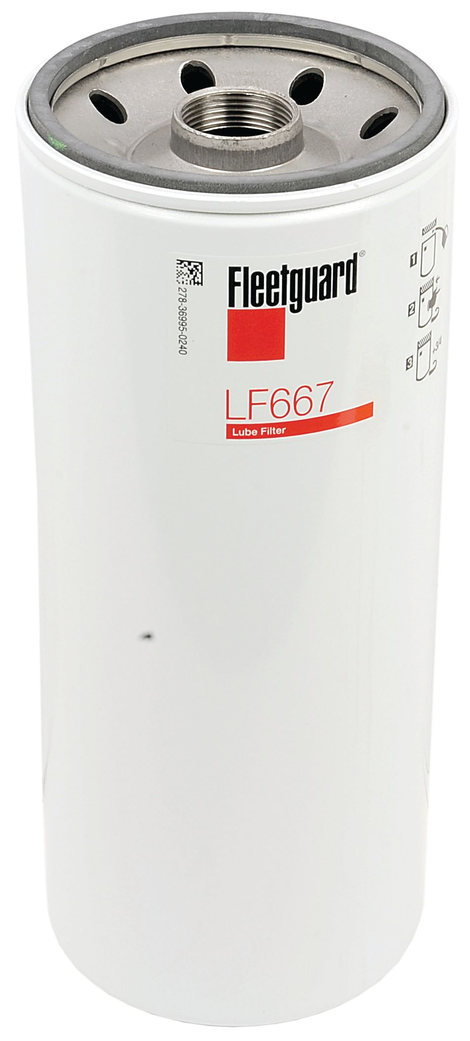 CASE IH OIL FILTER LF667 109502