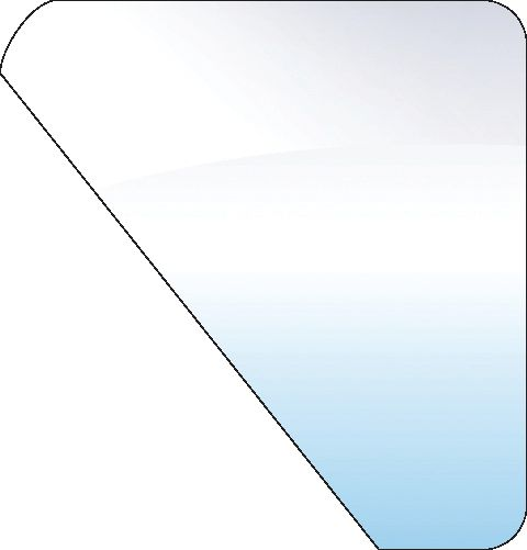 FORD NEW HOLLAND GLASS-DOOR-LOWER 10092