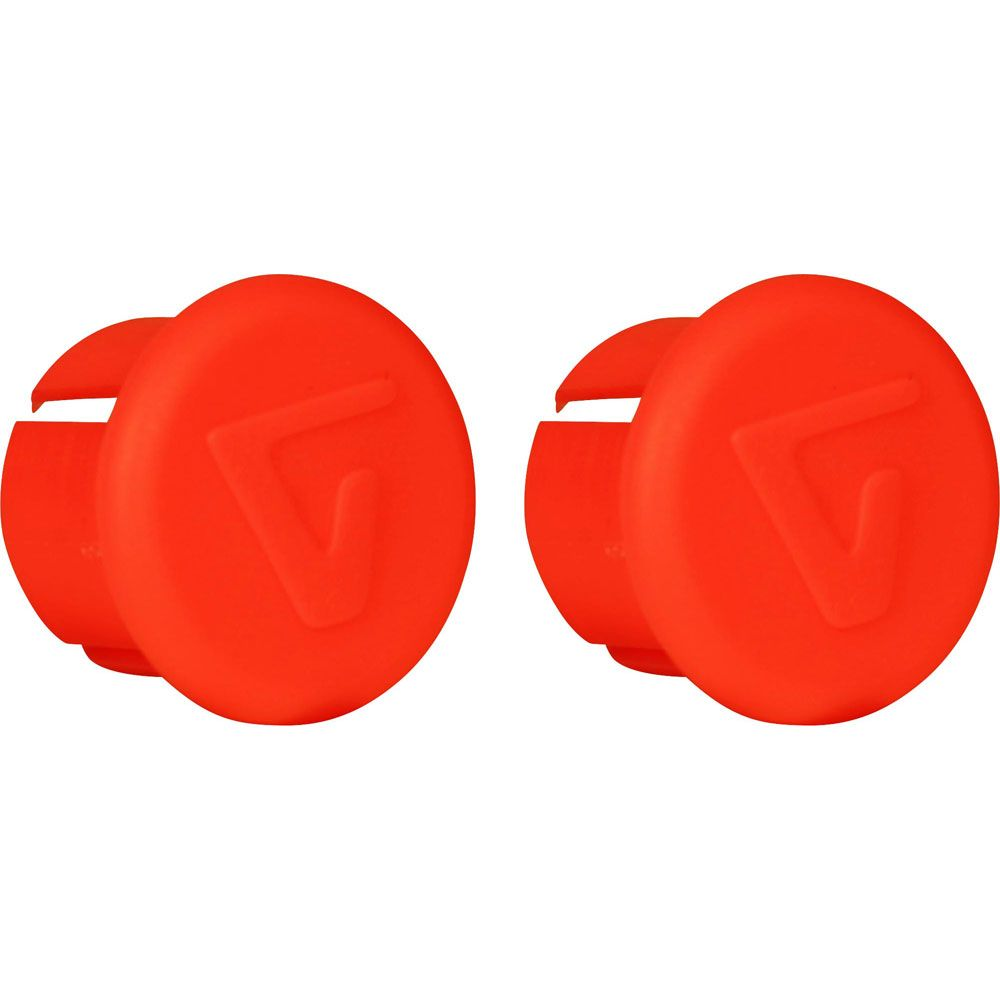 VELOX BAR END PLUGS FLUO RED X10 VTB006RF