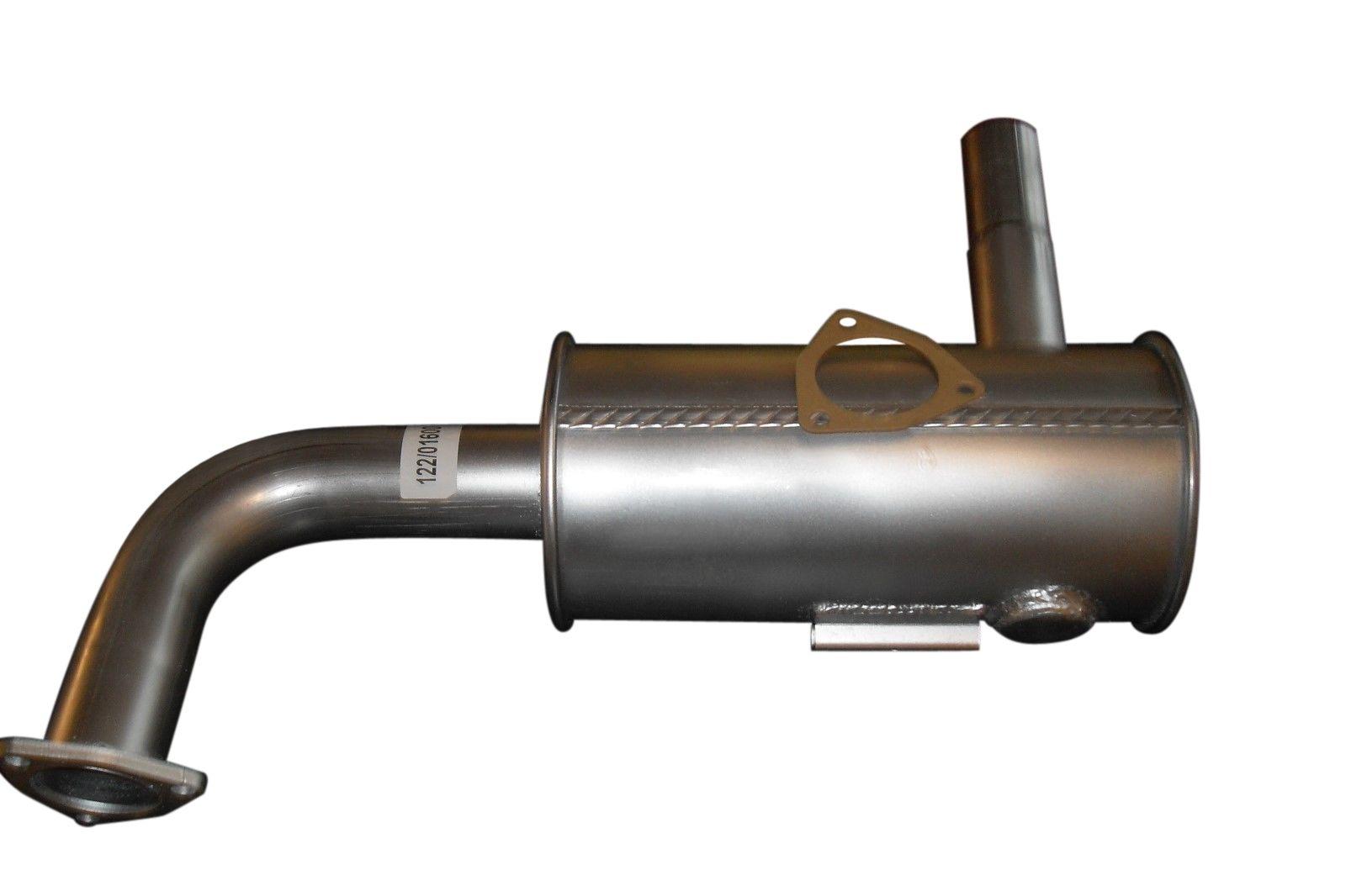 JCB EXHAUST + GASKET 122/01600 & 813/00345