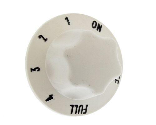 Knob: Cooker: 4.7mm White