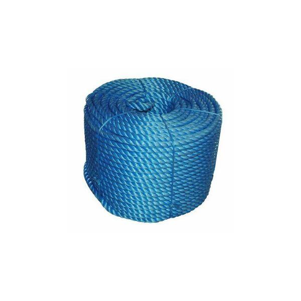 8mm x 220m Blue Polypropylene Rope