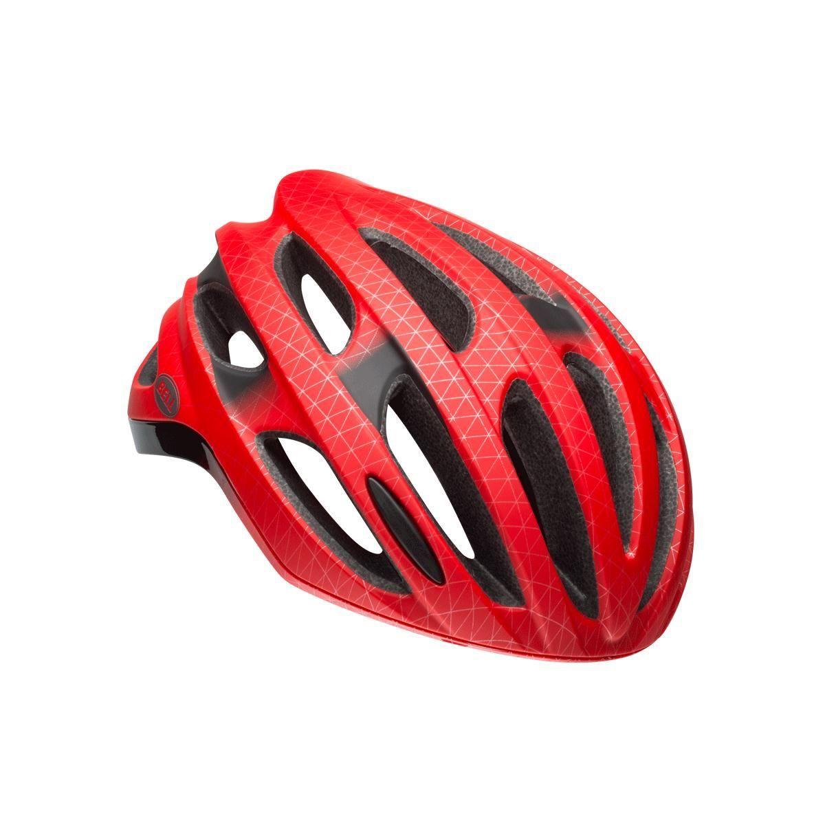 Bell Formula Road Helmet 2018: Matt/Gloss Red/Black L 58-62Cm