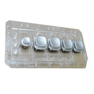 Light Guide  Button Assembly Gray52