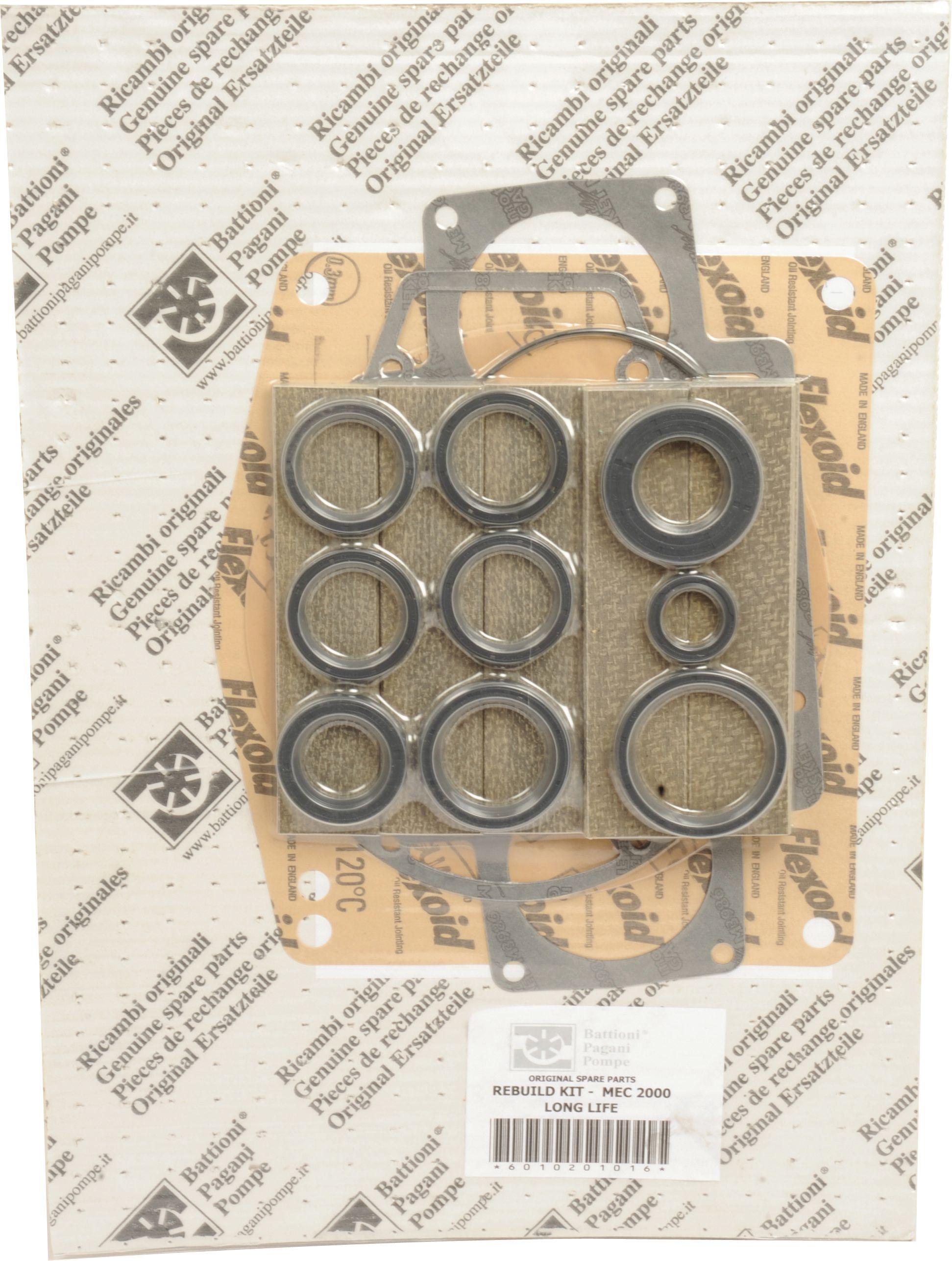 BATTIONI PAGANI POMP REBUILD KIT-MEC 2000 L/L 101957