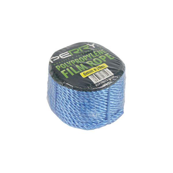 16mm x 30m Blue Polypropylene Rope