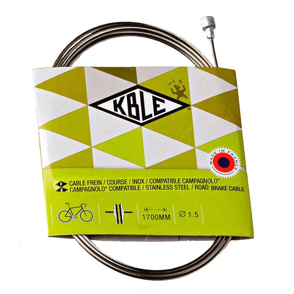 TRANSFIL CAMPAG S/S BRAKE WIRE 160CM KB37